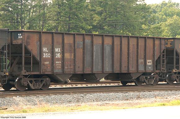 Vehicle - Rail - Rolling Stock (Freight) - Open Hopper - 3-Bay 90 Ton