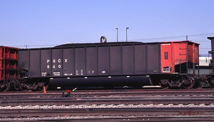 Rail - Rolling Stock (Freight) - Gondola - Bathtub, Johnstown Twin Tub