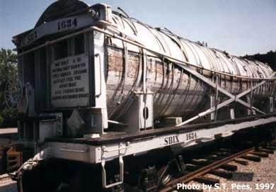 Vehicle - Rail - Rolling Stock (Freight) - Tank Car - Vinegar