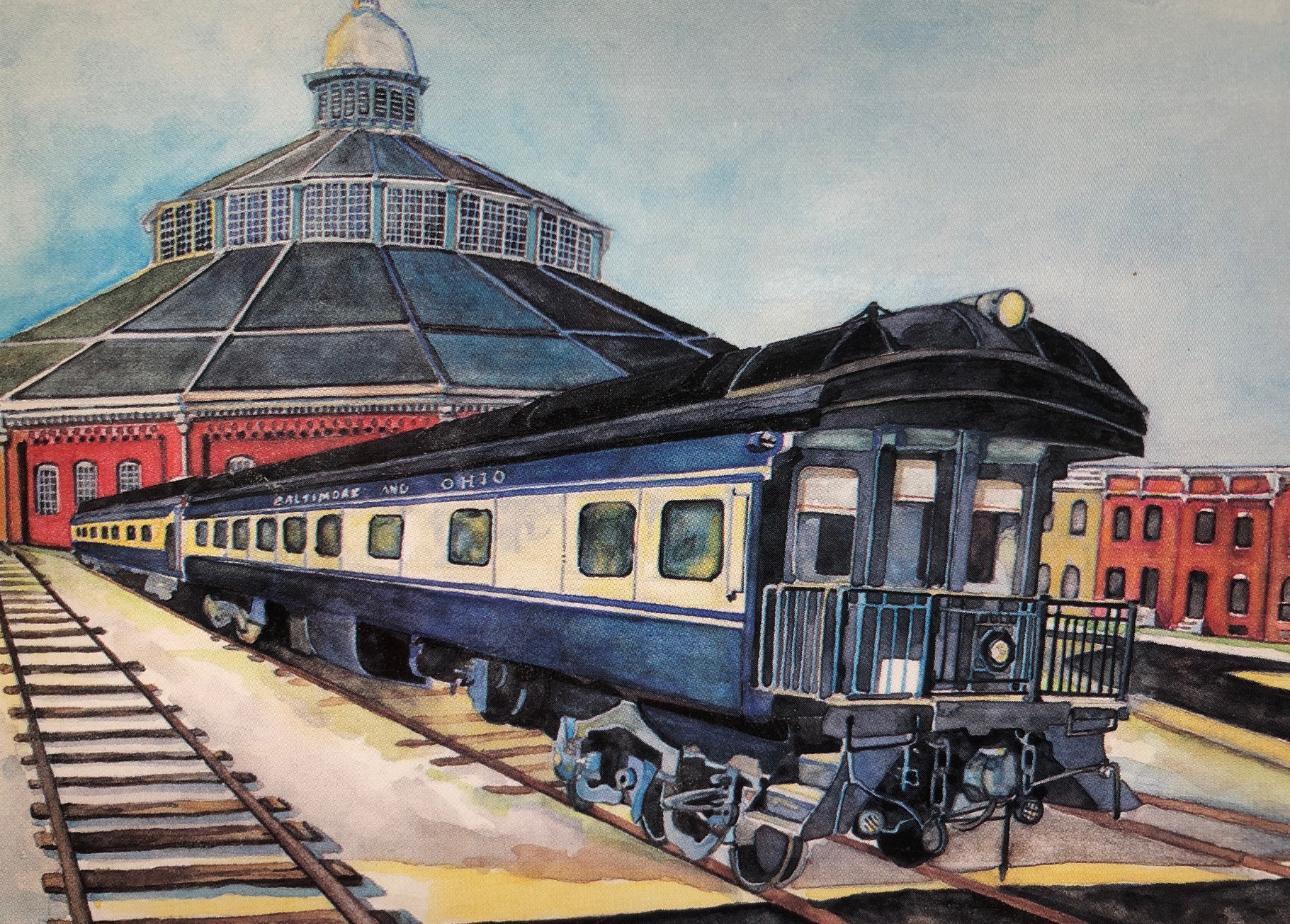 Vehicle - Rail - Passenger Car - Heavyweight - Pullman