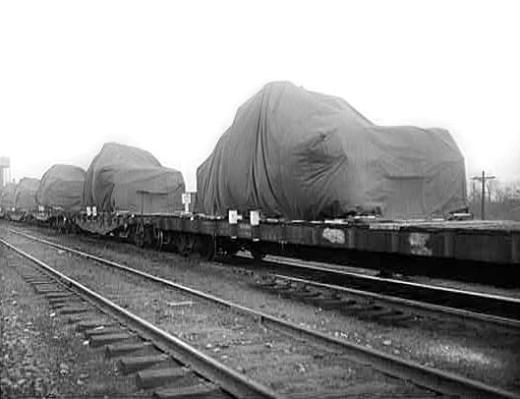 Rail - Rolling Stock (Freight) - Flatcar - 40 Foot