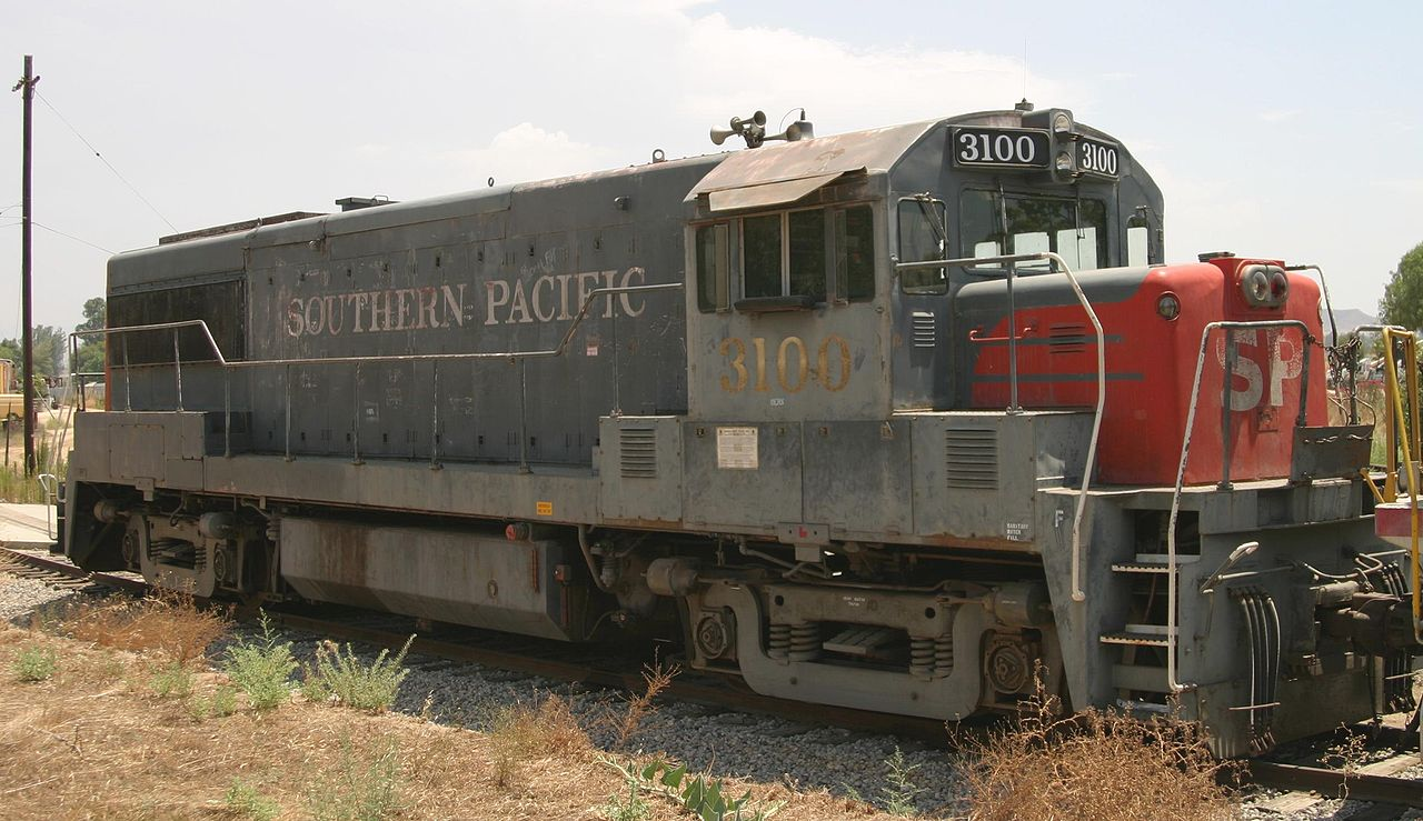 Vehicle - Rail - Locomotive - Diesel - GE U25B