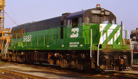 Rail - Locomotive - Diesel - GE U25C