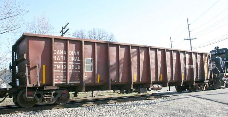 Vehicle - Rail - Rolling Stock (Freight) - Gondola - Coal, 4000 c.f.