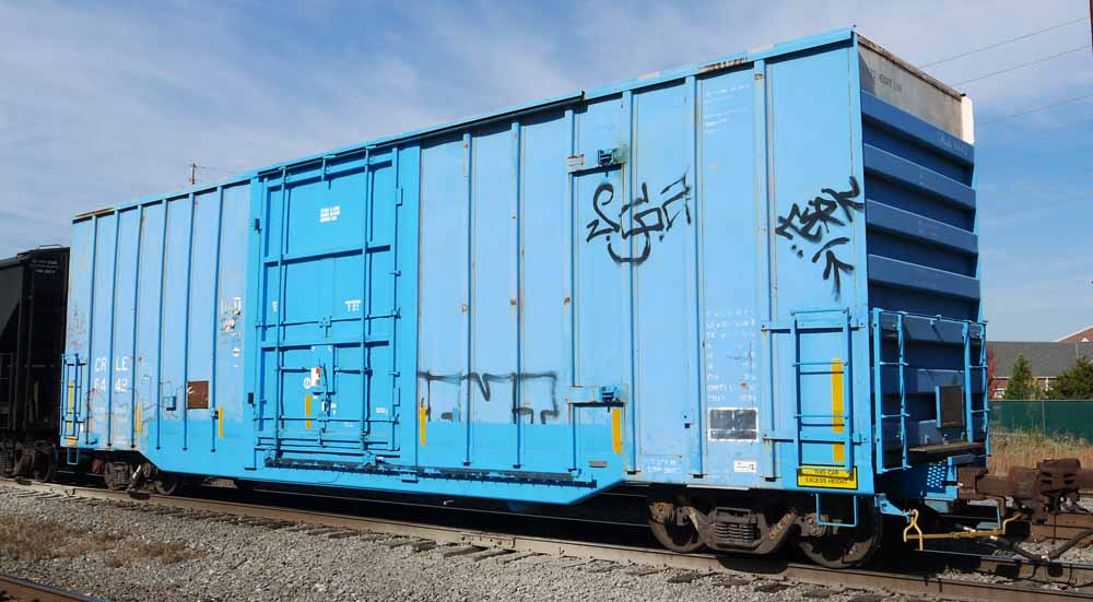 Rail - Rolling Stock (Freight) - Boxcar - 40 Foot Hi-Cube