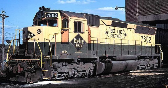 Rail - Locomotive - Diesel - EMD SD45