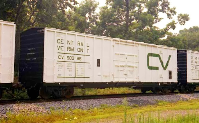 Vehicle - Rail - Rolling Stock (Freight) - Boxcar - Berwick