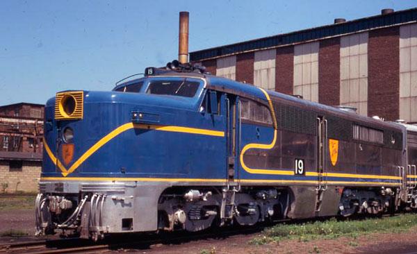 Vehicle - Rail - Locomotive - Diesel - Alco PA/PB