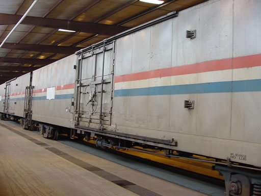 Vehicle - Rail - Rolling Stock (Freight) - Boxcar - 60 Foot Material Handling