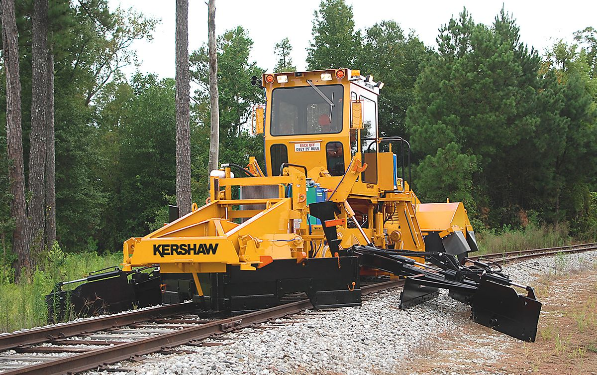 Rail - Rolling Stock (Freight) - Maintenance of Way - Mixed