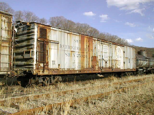 Rail - Rolling Stock (Freight) - Reefer - 50 Foot, Mechanical
