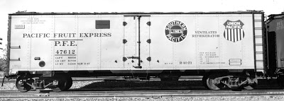 Rail - Rolling Stock (Freight) - Reefer - 40 Foot, ice, R-40-23