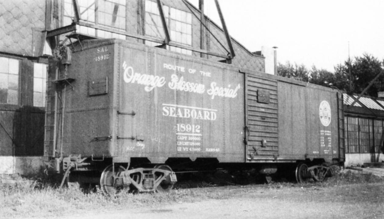 Rail - Rolling Stock (Freight) - Boxcar - 40 Foot Steel ARA/X-29