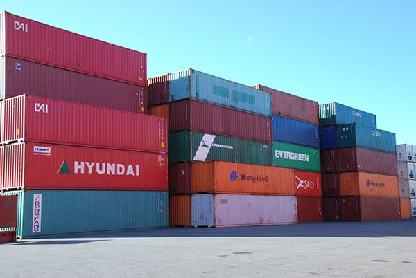 Vehicle - Intermodal - Container - 40 Foot - Corrugated, Hi Cube