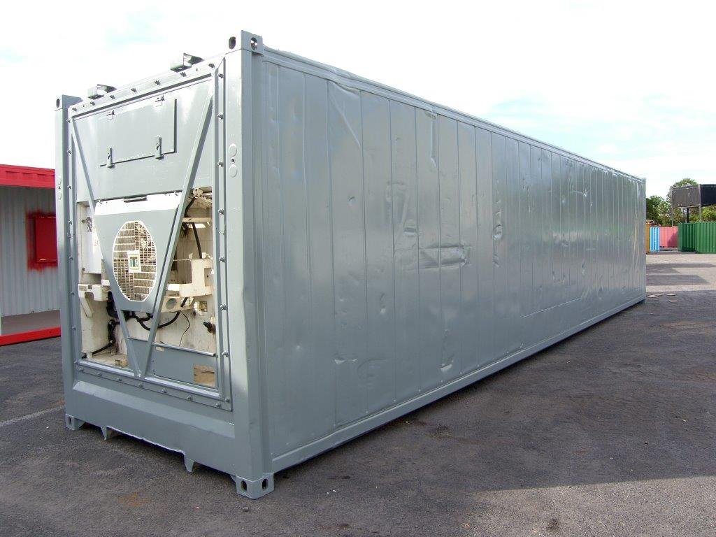 Intermodal - Container - 40 Foot - Smoothside, Reefer