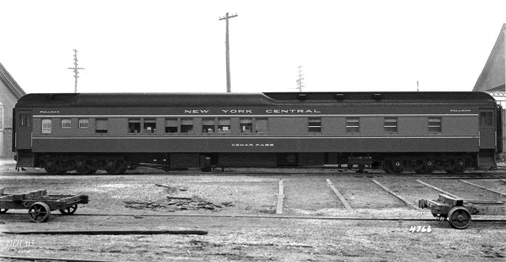Vehicle - Rail - Passenger Car - Heavyweight - Pullman Sleeper 10-1-2