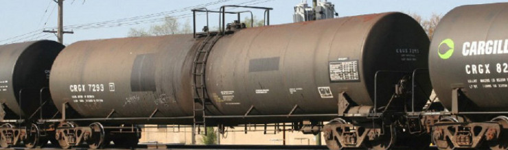 Rail - Rolling Stock (Freight) - Tank Car - Single Dome, Trinity 25,500