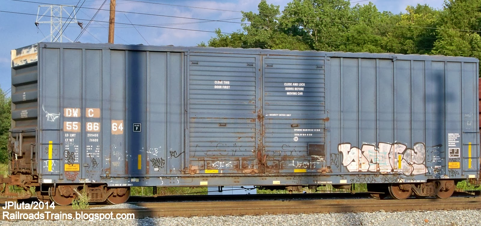 Rail - Rolling Stock (Freight) - Boxcar - 50 Foot Gunderson 5200