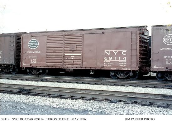 Vehicle - Rail - Rolling Stock (Freight) - Boxcar - 40 Foot Steel Double Door
