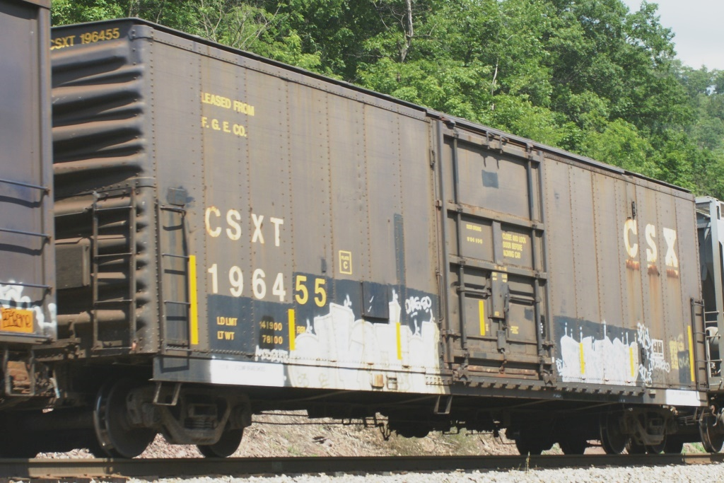 Vehicle - Rail - Rolling Stock (Freight) - Boxcar - 50 Foot Fruit Growers Express