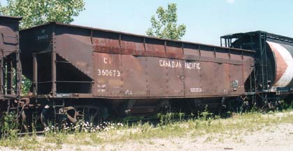 Vehicle - Rail - Rolling Stock (Freight) - Open Hopper - ACF Hart Ballast 70 Ton
