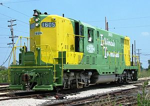 Rail - Locomotive - Diesel - EMD GP7