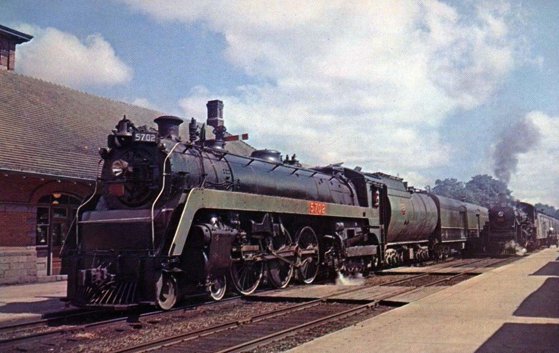 Rail - Locomotive - Steam - 4-6-4 Hudson