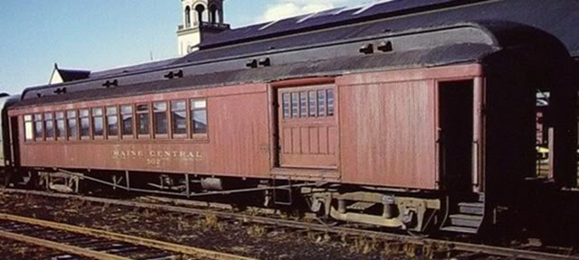 Vehicle - Rail - Passenger Car - Heavyweight - Combine