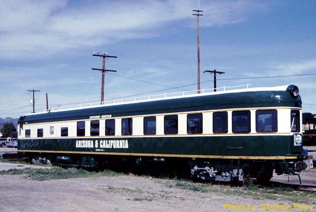 Rail - Passenger Car - Streamlined/Lightweight - ACF Observation Lounge