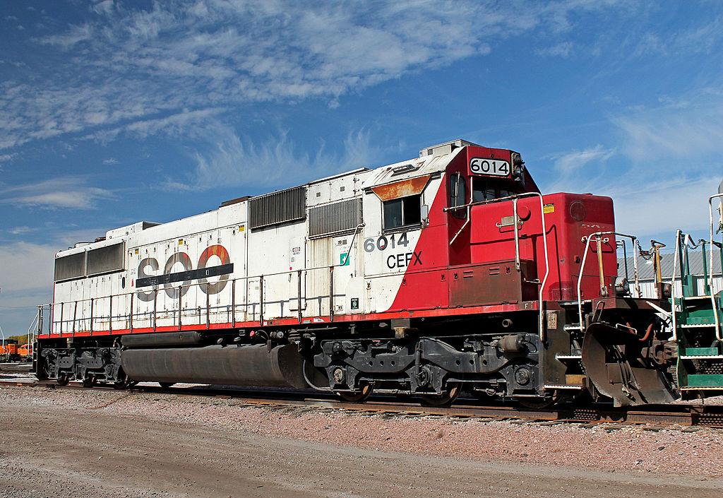 Rail - Locomotive - Diesel - EMD SD60