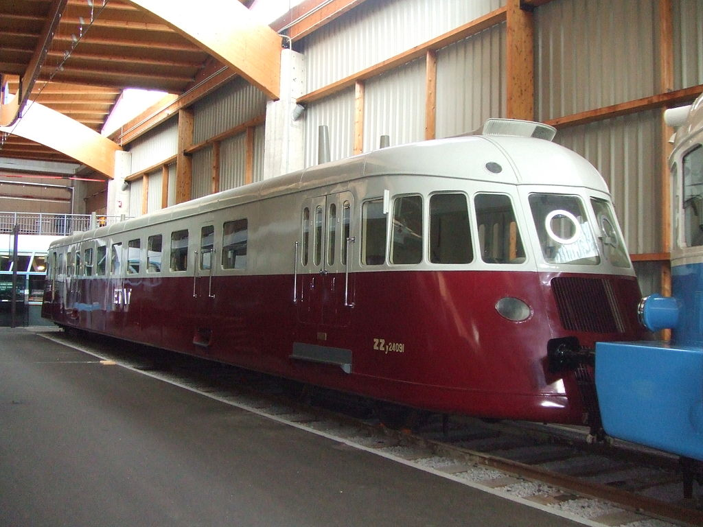 Rail - Railcar - Diesel - Renault ABJ