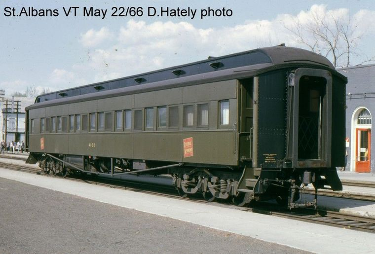 Rail - Passenger Car - Heavyweight - ACF 60 Foot Coach