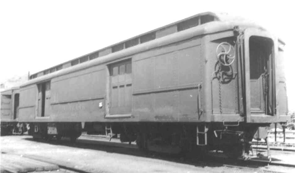 Rail - Passenger Car - Heavyweight - ACF 60 Foot Baggage