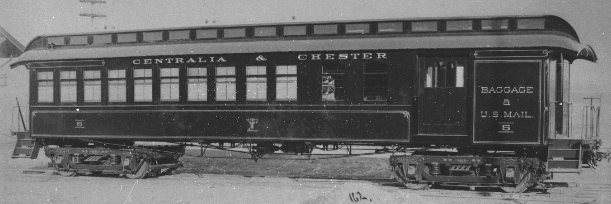 Rail - Passenger Car - Heavyweight - ACF 60 Foot Combine