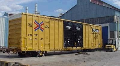 Vehicle - Rail - Rolling Stock (Freight) - Boxcar - 60 Foot Steel, Hi-Cube
