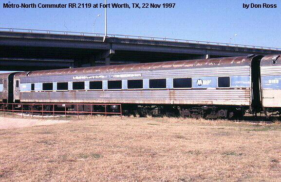 Rail - Passenger Car - Streamlined/Lightweight - Coach, 64 Seat