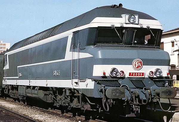 Rail - Locomotive - Diesel - SNCF CC 72000
