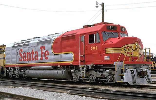 Rail - Locomotive - Diesel - EMD FP45