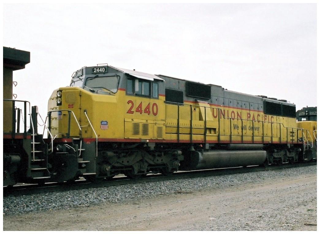 Vehicle - Rail - Locomotive - Diesel - EMD SD60M