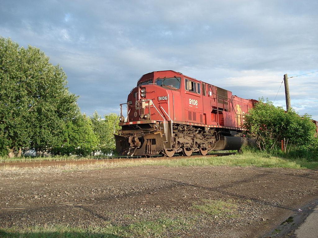 Vehicle - Rail - Locomotive - Diesel - EMD SD90MAC