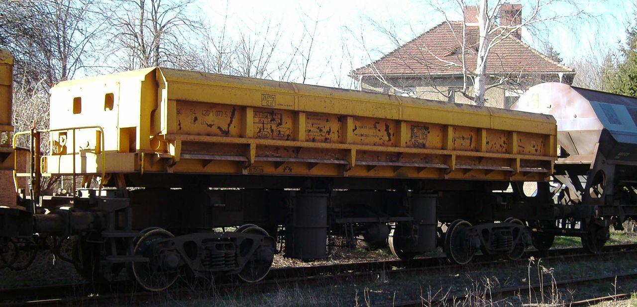Rail - Rolling Stock (Freight) - Gondola - Tipping