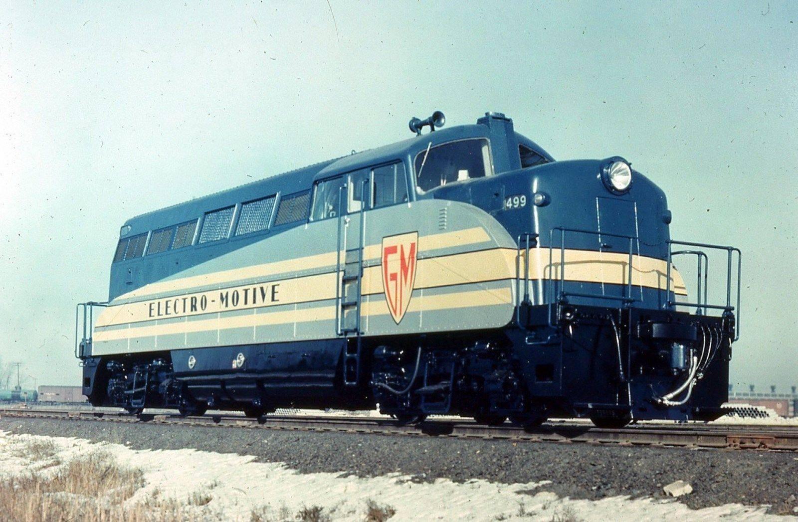 Rail - Locomotive - Diesel - EMD BL2