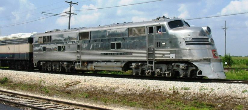 Vehicle - Rail - Locomotive - Diesel - EMD E5
