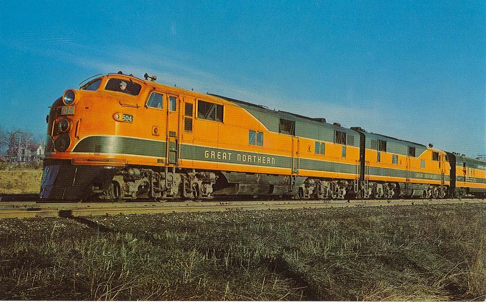 Rail - Locomotive - Diesel - EMD E7