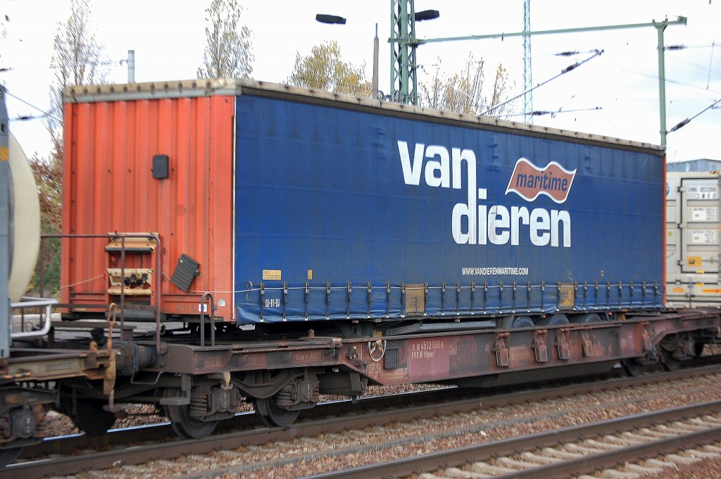 Rail - Rolling Stock (Freight) - Flatcar - Container, 50 Foot