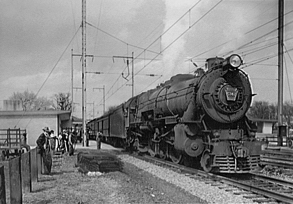 Vehicle - Rail - Locomotive - Steam - 4-6-2, Pacific K4