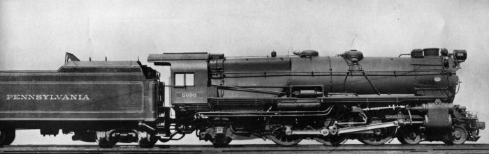 Rail - Locomotive - Steam - 4-6-2 Pacific