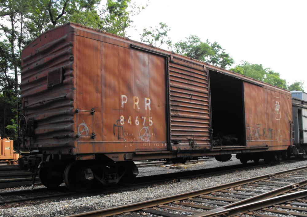Rail - Rolling Stock (Freight) - Boxcar - 50 Foot X41