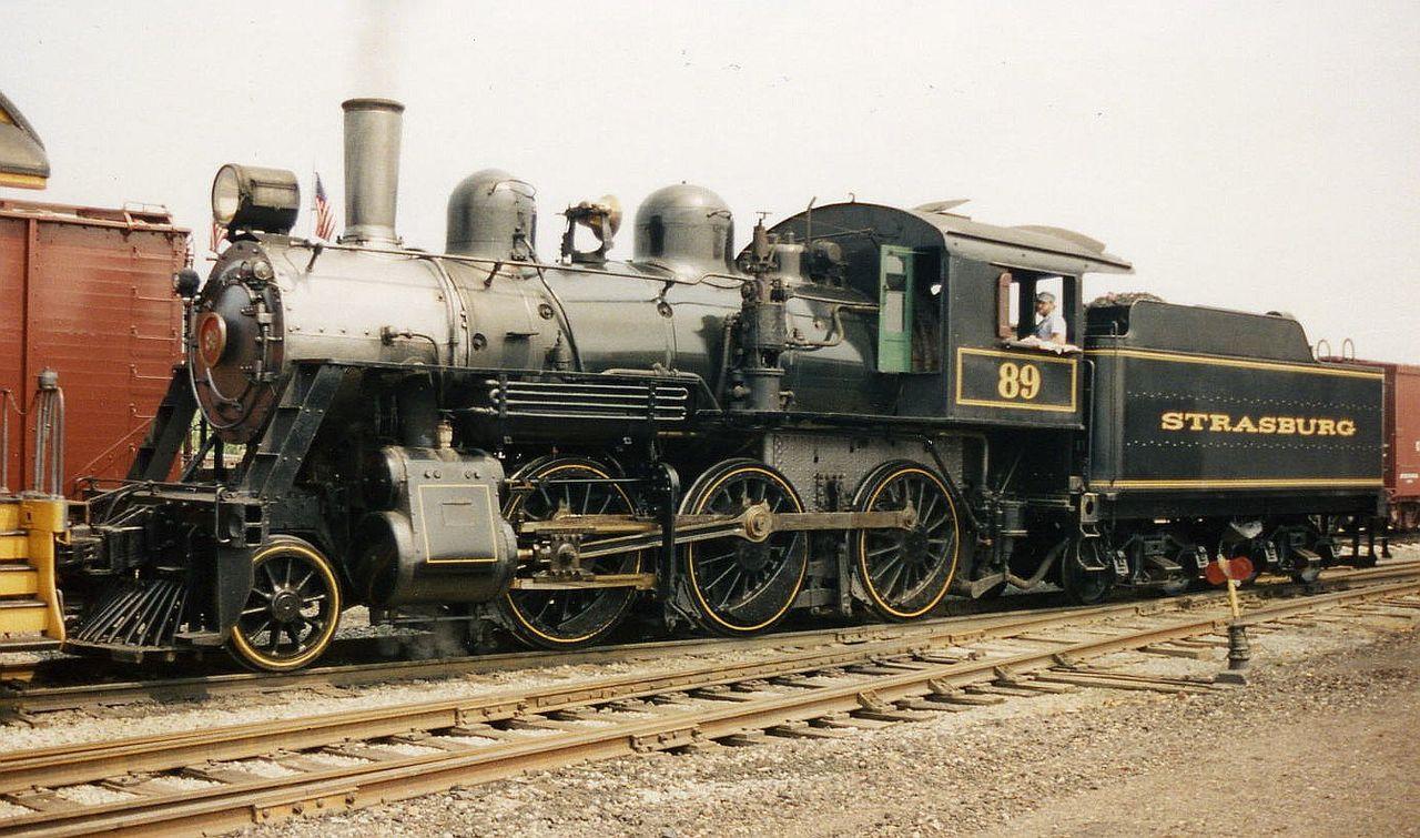 Rail - Locomotive - Steam - 2-6-0 Mogul