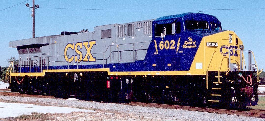 Rail - Locomotive - Diesel - GE AC6000CW